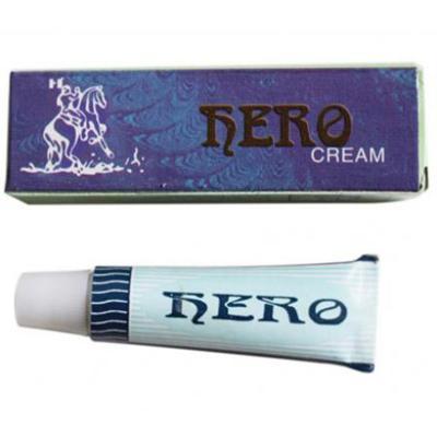 Phân phối 6 tuýp gel HERO CREAM chống xuất tinh sớm cho phái mạnh